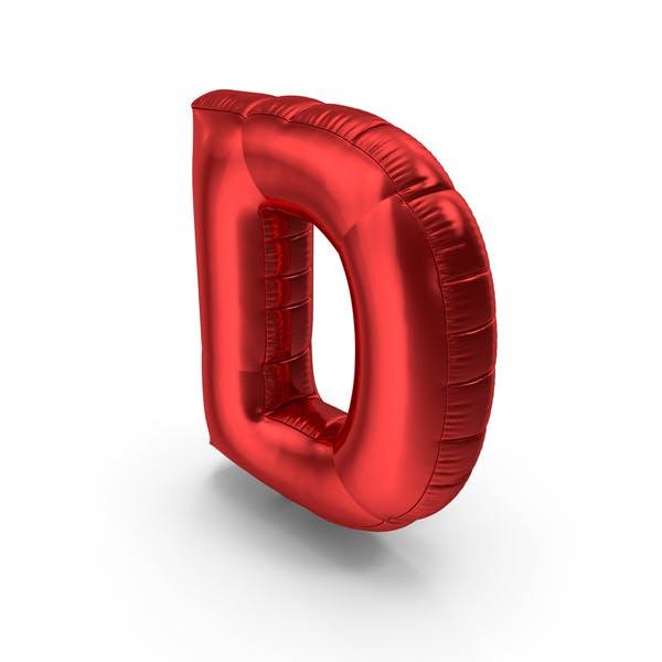 Thumbnail for Foil Balloon Letter D