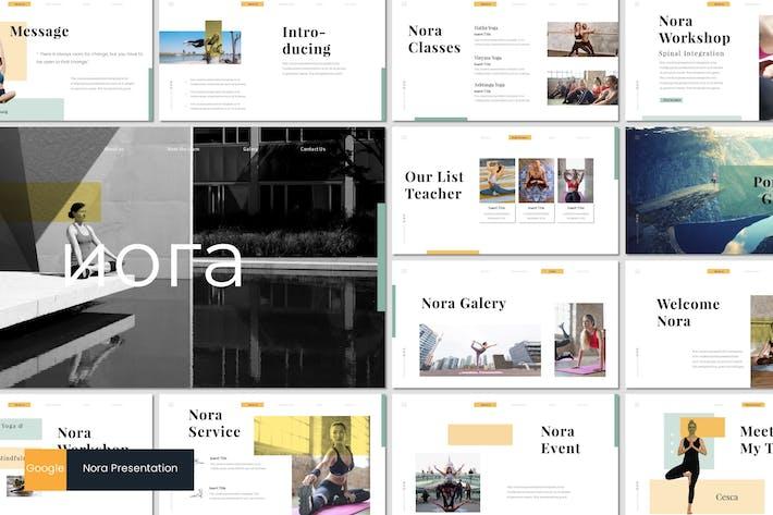 Thumbnail for Nora 2 - Google Slides Template