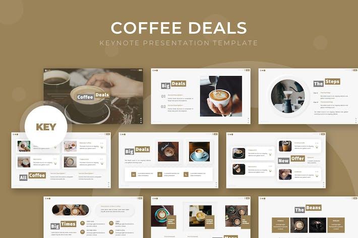 Thumbnail for Кофейные предложения - Шаблон Keynote