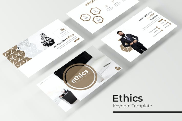 Thumbnail for Ethics - Keynote Template
