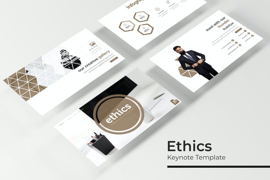 Ethics - Keynote Template