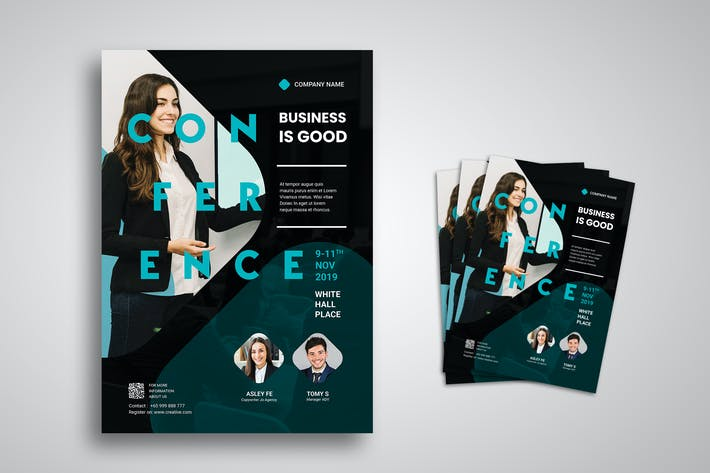 Thumbnail for Conference Flyer Promo Template