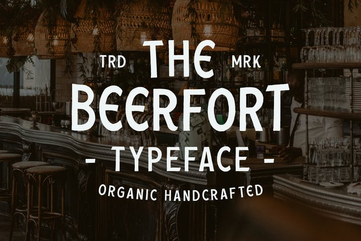 Thumbnail for Beerfort font duo (8 Font Total)