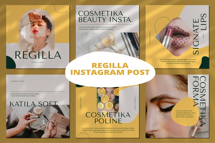 Cosmetic Instagram Post