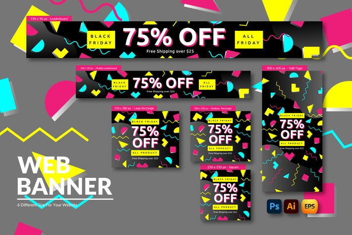 Black Friday Ads | Web Banner