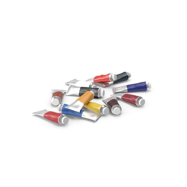 Thumbnail for Oil Paint Tubes
