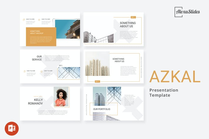 Thumbnail for Azkal - Architecture Powerpoint Template