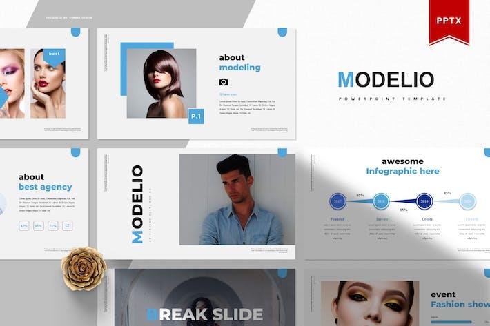 Modelio | Powerpoint Template
