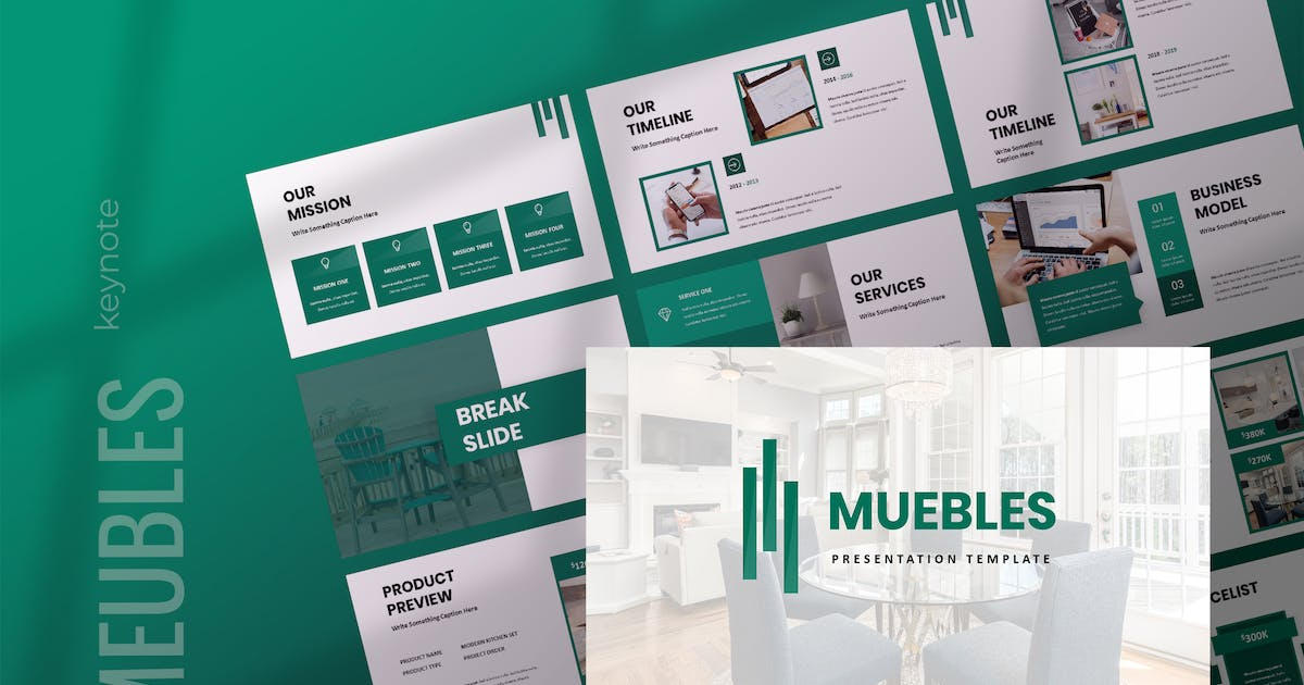 Download Meubles - Furniture Keynote Presentation by TMint