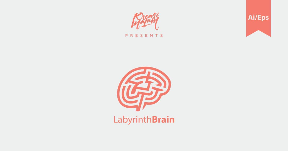 Download Labyrinth Brain Logo by Ijajil