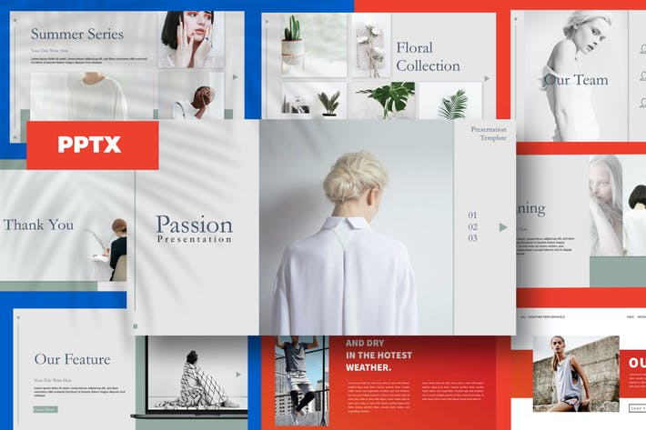 Thumbnail for Lippitude - Powerpoint Template