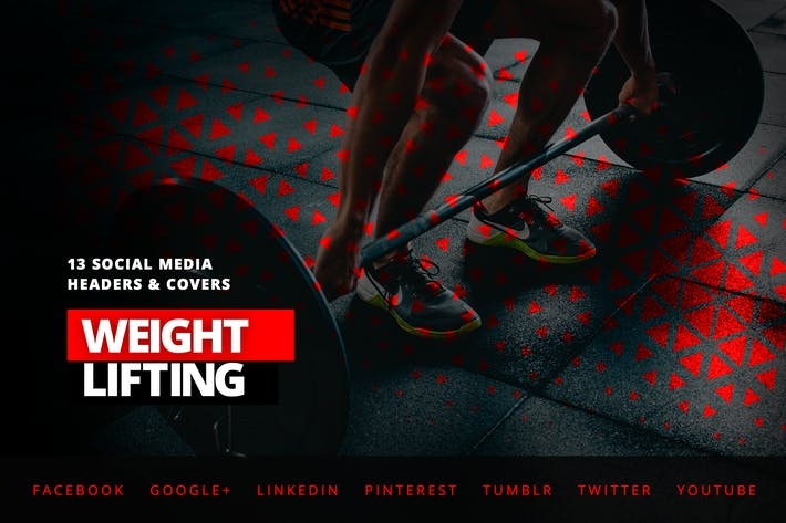 Thumbnail for Weightlifting Fitness – Social Media Kit