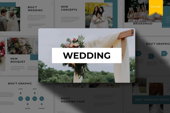 Thumbnail for Wedding | Google Slides Template