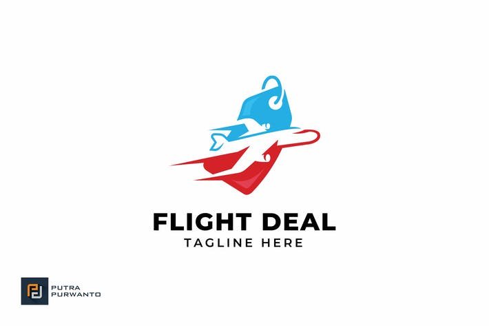 Cover Image For Flight Deal - Logo Template