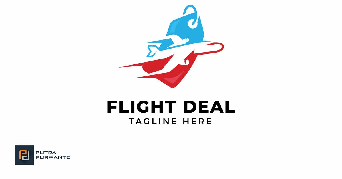 Download Flight Deal - Logo Template by putra_purwanto