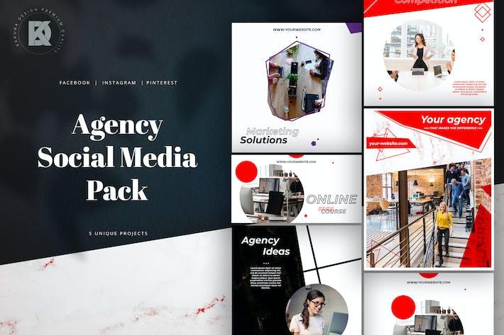 Thumbnail for Agence Marketing Social Media Pack/Kit