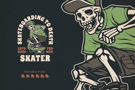 Skaters Handdrawn logo