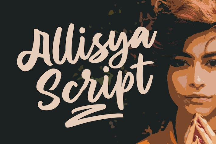 Thumbnail for Allisya Brush Script