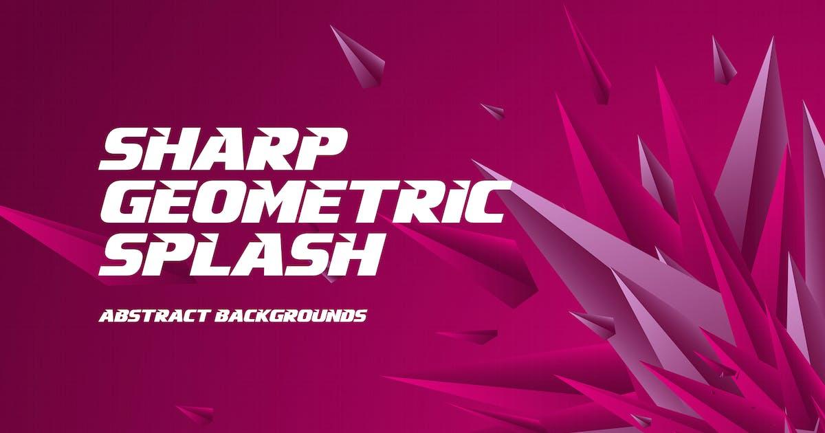 Download Sharp Geometric Splash Background by themefire