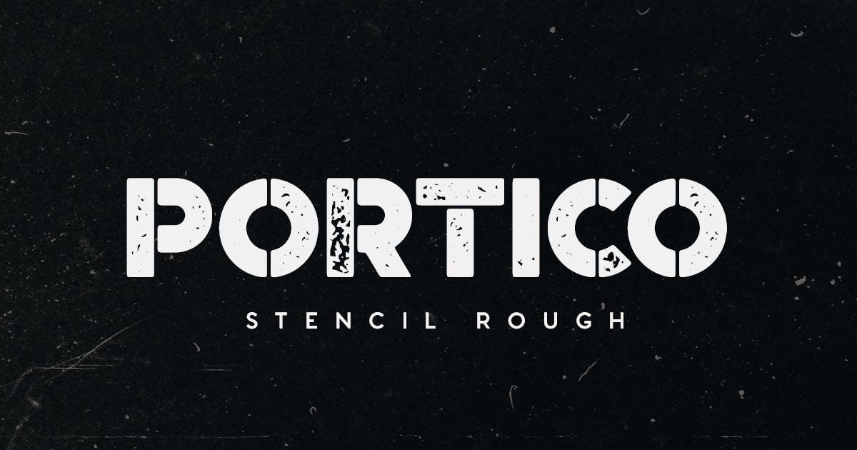Download Portico Stencil Rough by MehmetRehaTugcu