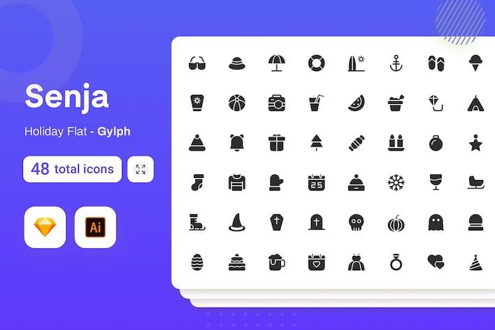 Thumbnail for Gylph Senja - Holiday