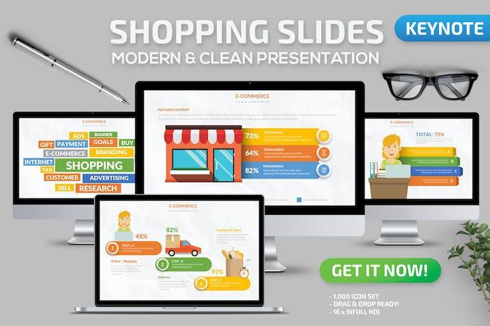 Shopping Keynote Presentation