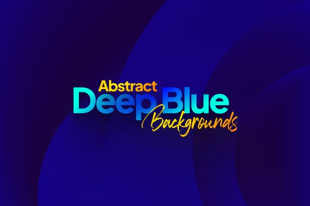 Abstract Deep Blue Backgrounds