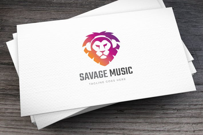 Thumbnail for Savage Music Logo Template