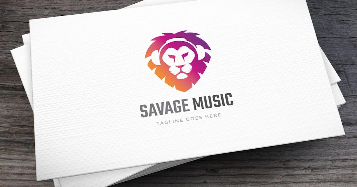 Savage Music Logo Template by empativo