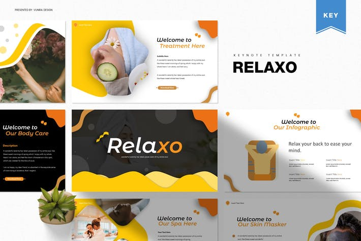 Thumbnail for Relaxo | Шаблон Keynote