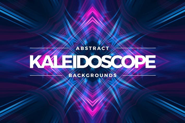 Thumbnail for Kaleidoscope Light Backgrounds