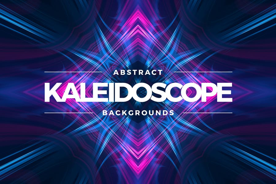 Kaleidoscope Light Backgrounds