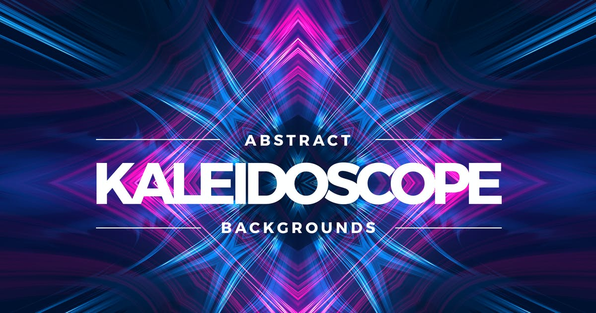Kaleidoscope Light Backgrounds by Shemul