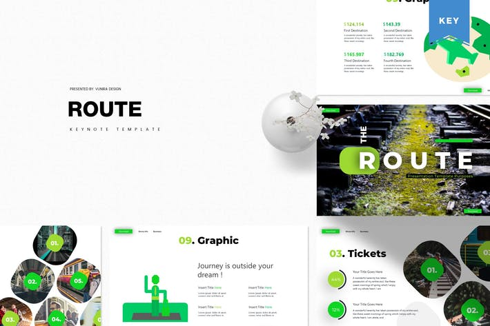 Thumbnail for Route | Keynote Template