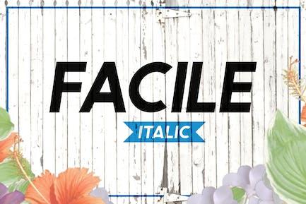 Facile Italic