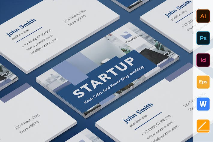 Thumbnail for Startup Business Card