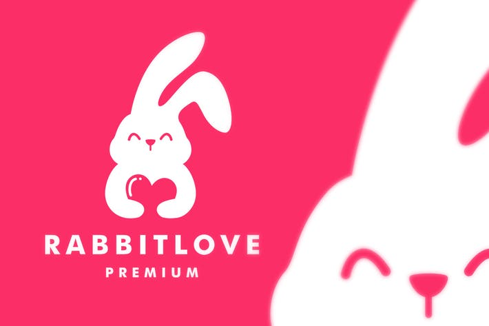 Thumbnail for Logo Lapin Love