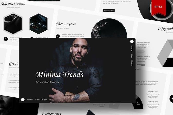 Thumbnail for Минимальная | Шаблон Powerpoint