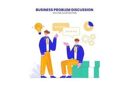 Business Problem Discussion Illustration