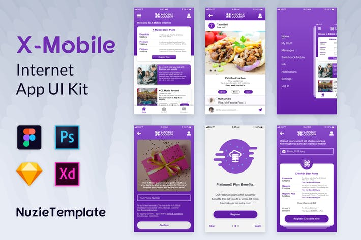 Thumbnail for Nuzie - Internet App Kits