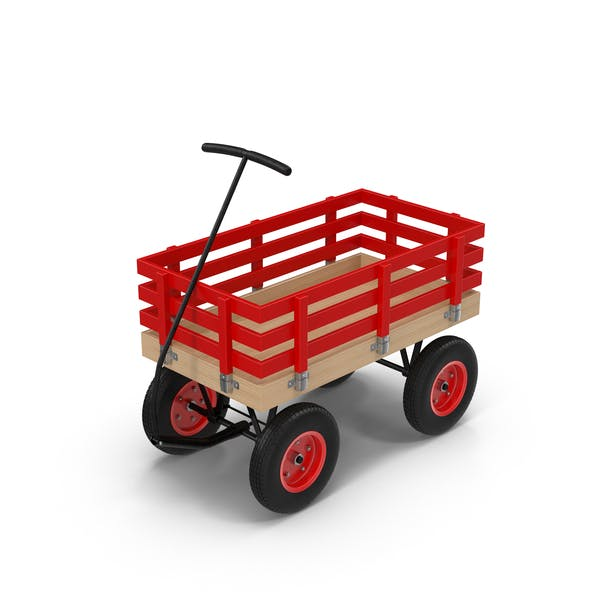 Red Toy Wagon