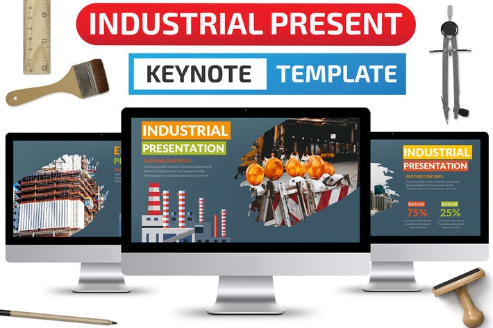 Thumbnail for Industrielle Keynote Präsentation