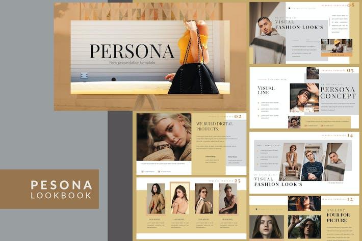 Thumbnail for Pesona Lookbook Powerpoint