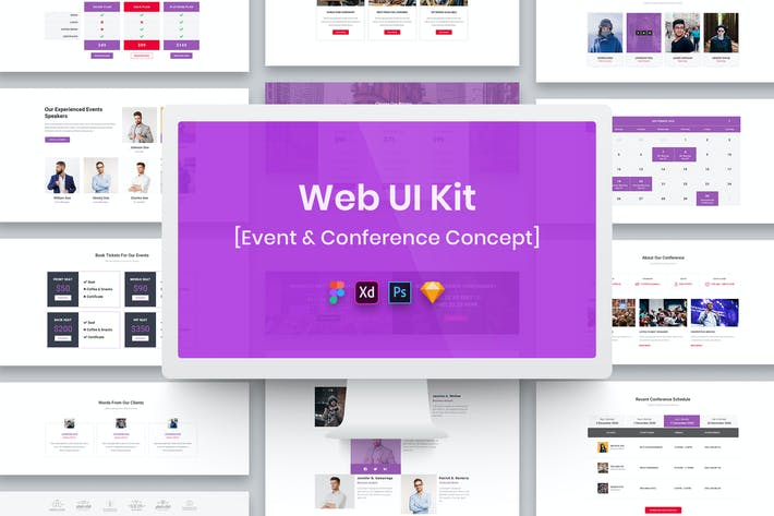 Thumbnail for Web UI Kit Event & Conference