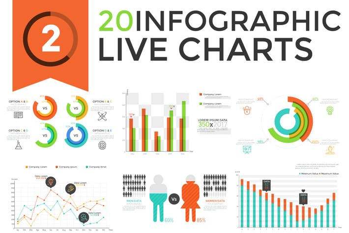 Thumbnail for 20 Live Graphs v.2