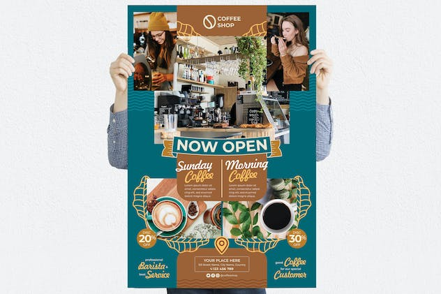 Coffee Shop #03 Poster