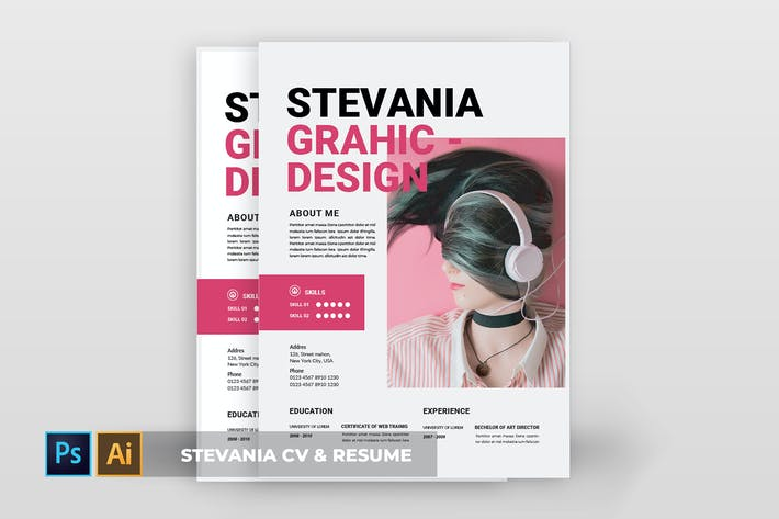 Thumbnail for Stevania | CV & Resume