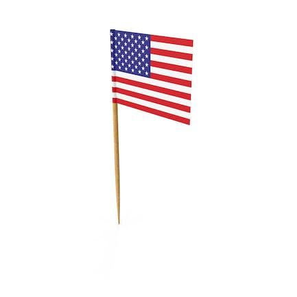 Toothpick America Flag