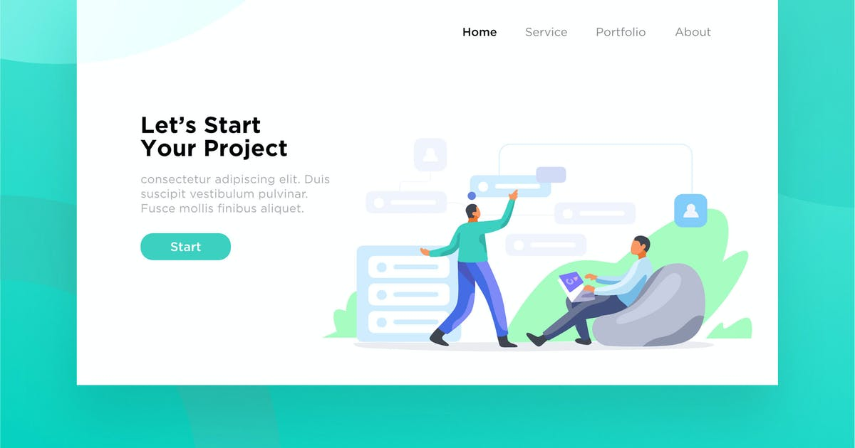 Download Task Management illustration for website by mursyiduchy