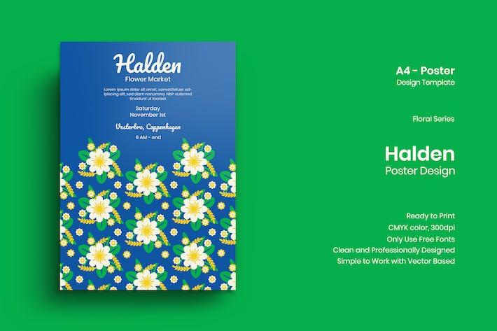 Thumbnail for Halden Poster Design